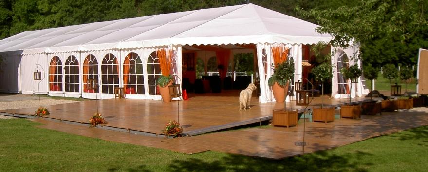Connu location de tente et chapiteaux pour réception sur le havre DN42